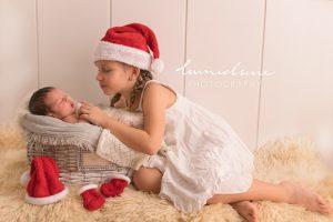 Lumielune fotografía navidad newborn de bebés y recién nacidos nounat en Barcelona Gava Viladecans Castelldefels Begues